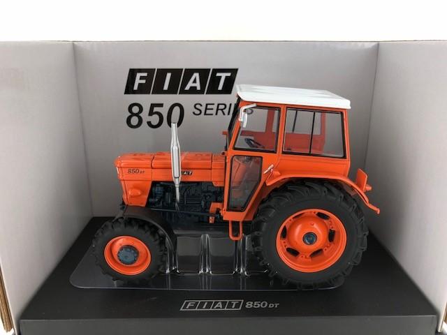 FIAT 850 DT avec cabine orange 1968-1//32 UH5298