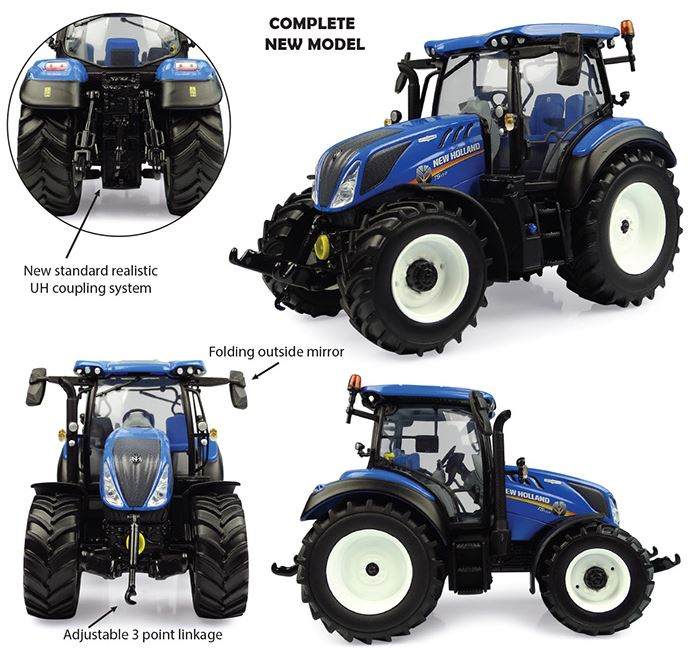 New Holland T5.130 (2019)