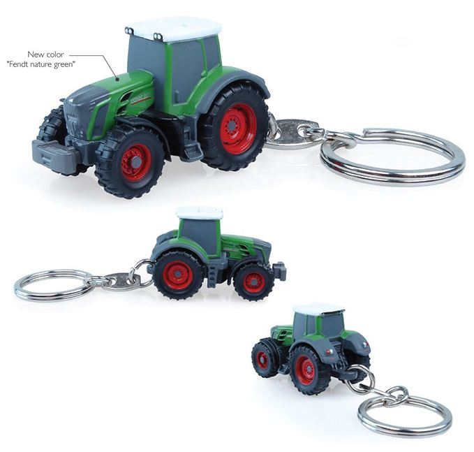 Fendt 828 Vario Nature Green Keyring