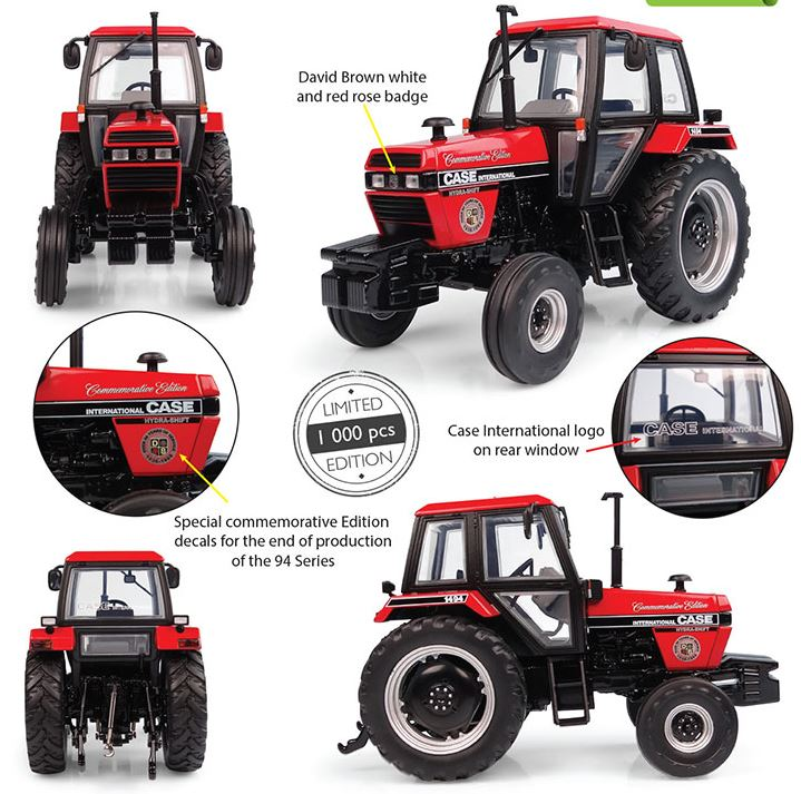 Case IH 1494 2wd 1988 Commemorative Edition - Limited Edition