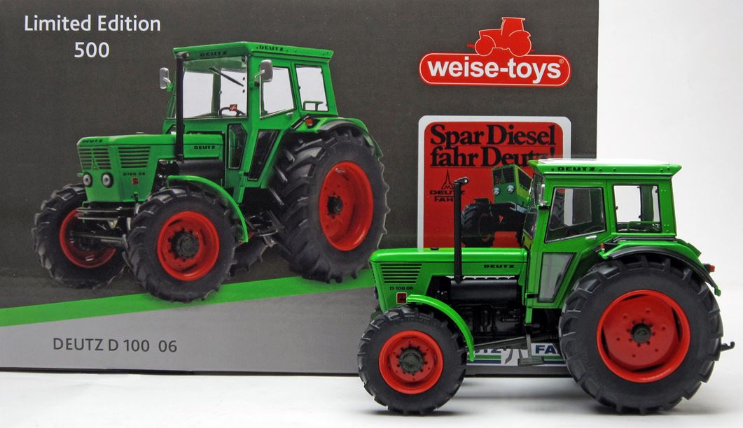 Deutz D100 06 4wd - Limited Edition