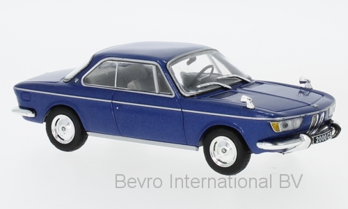 BMW 2000 CS 1966 Blauw Metallic