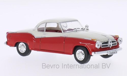 Borgward Isabella Coupe 1957 Rood/Wit