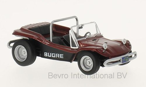Bugre Buggy 1970 Donkerrood Metallic
