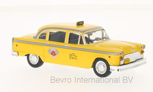 Checker Marathon 1963 New York Taxi