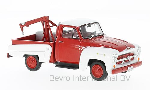 Chevrolet 3100 Tow Truck 1956 Rood/Wit