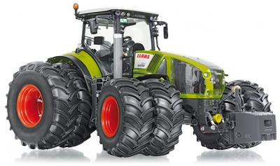 Claas Axion 950 met Dubbellucht - WIKING