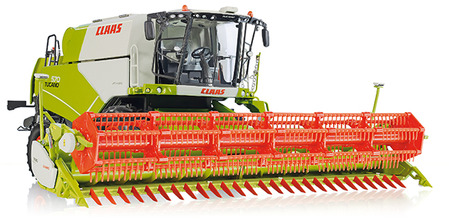 Claas Tucano 570 met V930 Dealer Edition - WIKING