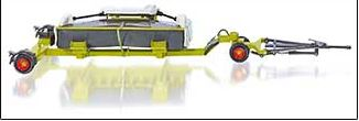 Claas Direct Disc 520 met Trailer - WIKING