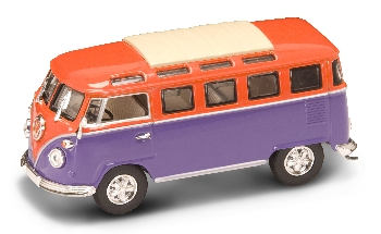 Volkswagen Camper Orange/Purple